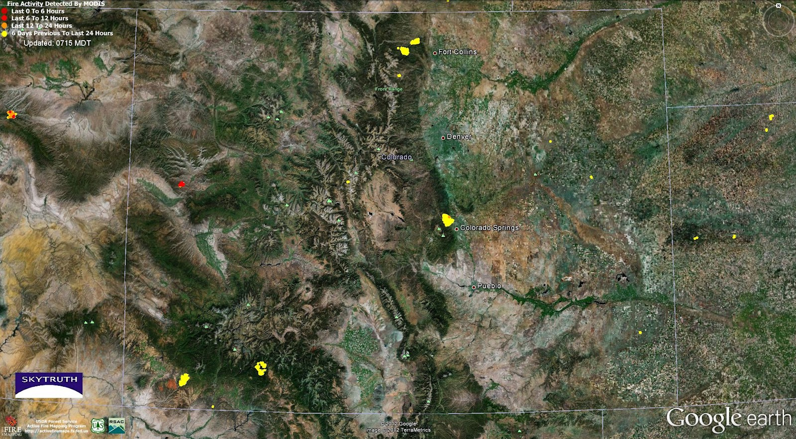 Wildfires and Gas Wells – Pine Ridge Fire, Colorado – SkyTruth