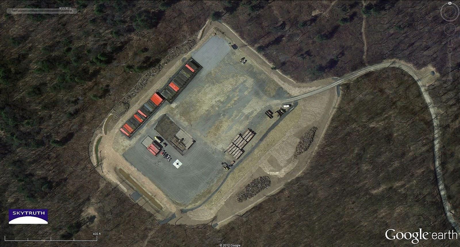 New Imagery in Google Earth – Fracking Revealed – SkyTruth