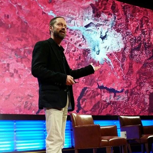 John Amos speaking at the WWF 2015 Fuller Symposium at National Geographic HQ, Washington, D.C.