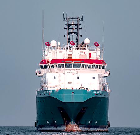 Bilge dumping at sea